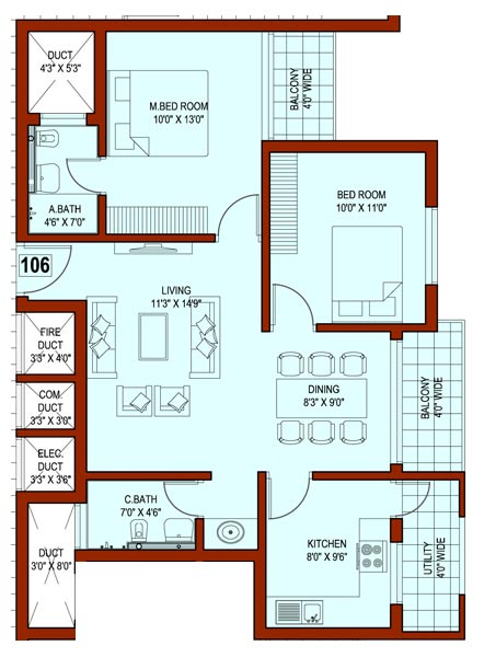 1500 square feet indian house plans for 2500 sq ft house plans india